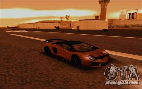 Lamborghini Aventador MV.1 [IVF] para la vista superior GTA San Andreas