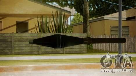 Atmosphere Missile v4.3 para GTA San Andreas segunda pantalla