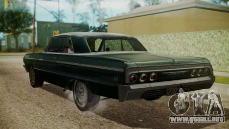 Chevrolet Impala SS 1964 Low Rider para GTA San Andreas left