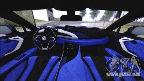 BMW i8 Coupe 2015 para GTA San Andreas