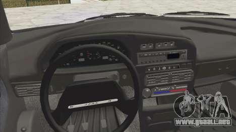 VAZ 2115 de Escorrentía para GTA San Andreas vista hacia atrás