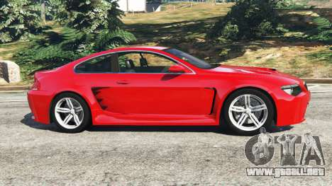 BMW M6 (E63) WideBody v0.1 [red] para GTA 5