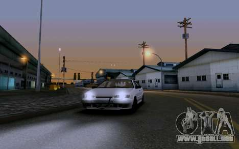 2114 Turbo para GTA San Andreas interior