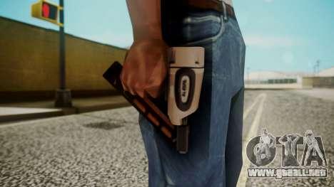 Nail Gun from Resident Evil Outbreak Files para GTA San Andreas tercera pantalla