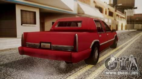 Stretch Sedan para GTA San Andreas left