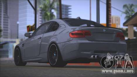 BMW M3 E92 2008 para la vista superior GTA San Andreas