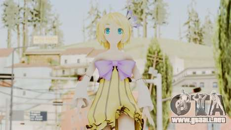 Project Diva F 2nd - Kagamine Rin Cheerful Candy para GTA San Andreas