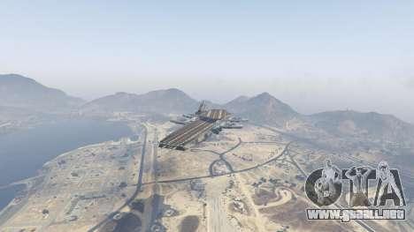 GTA 5 S.H.I.E.L.D. Helicarrier segunda captura de pantalla
