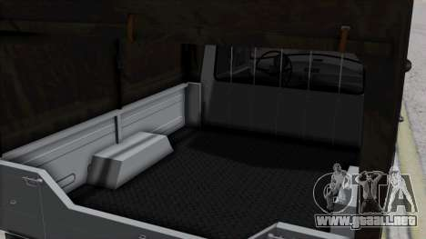Syrena R20 v1.0 para GTA San Andreas vista hacia atrás