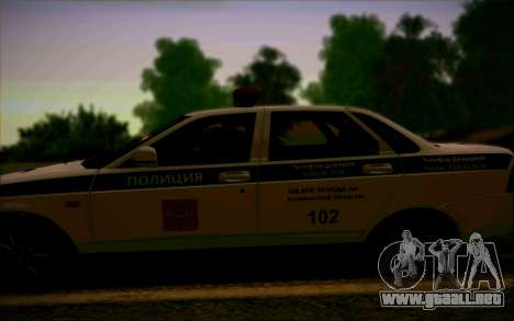 VAZ 2170 Priora DPS para visión interna GTA San Andreas