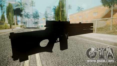 VXA-RG105 Railgun with Stripes para GTA San Andreas tercera pantalla