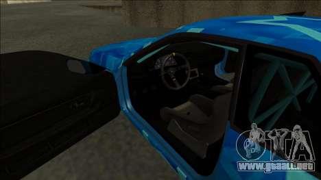Nissan Skyline R32 Drift Blue Star para la visión correcta GTA San Andreas
