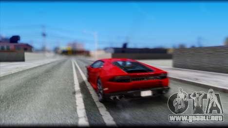 KISEKI V4 para GTA San Andreas quinta pantalla