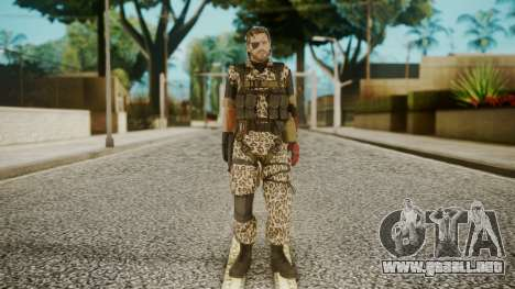 Venom Snake Animals para GTA San Andreas segunda pantalla