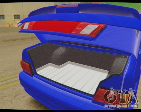 VAZ 2115 de Escorrentía para GTA San Andreas vista posterior izquierda