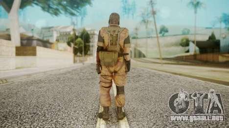 Venom Snake Golden Tiger para GTA San Andreas tercera pantalla