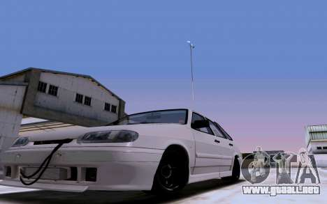2114 Turbo para la vista superior GTA San Andreas