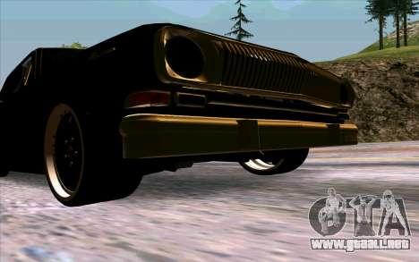 GAZ 24 Volga para visión interna GTA San Andreas