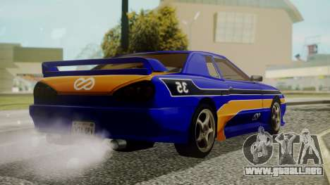 Elegy NR32 without Neon Exclusive PJ para GTA San Andreas left