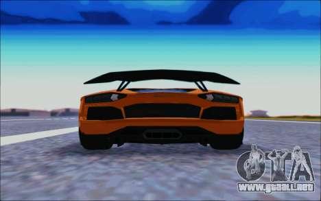 Lamborghini Aventador MV.1 [IVF] para la visión correcta GTA San Andreas
