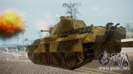 Panzerkampfwagen V Ausf. A Panther para GTA San Andreas left