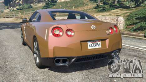 Nissan GT-R (R35) para GTA 5