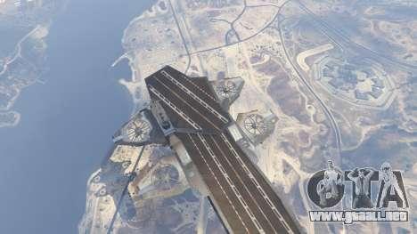 GTA 5 S.H.I.E.L.D. Helicarrier sexta captura de pantalla