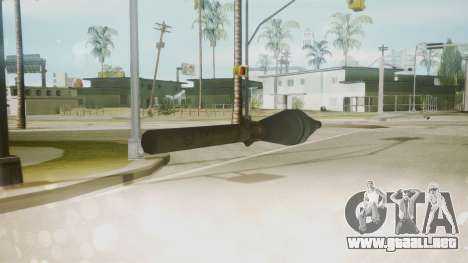 Atmosphere Missile v4.3 para GTA San Andreas tercera pantalla