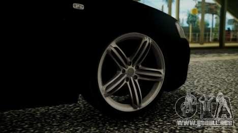 Audi A3 para GTA San Andreas vista posterior izquierda