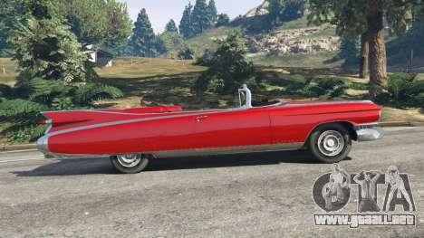 GTA 5 Cadillac Eldorado vista lateral izquierda