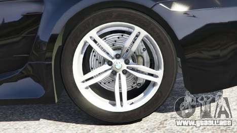 BMW M6 (E63) WideBody v0.1 para GTA 5