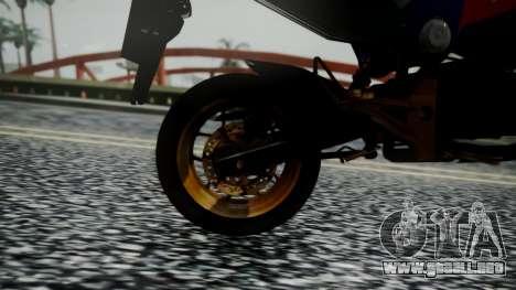 Honda MSX 125C Khmer para GTA San Andreas vista hacia atrás