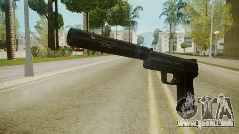 Atmosphere Silenced Pistol v4.3 para GTA San Andreas