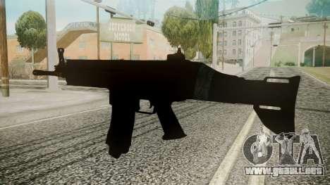 SCAR-L Battlefield 3 para GTA San Andreas segunda pantalla