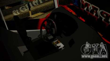 Bus Iron Man para la visión correcta GTA San Andreas