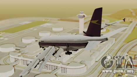 Airbus A380-800 British Overseas Airways Corp. para GTA San Andreas left