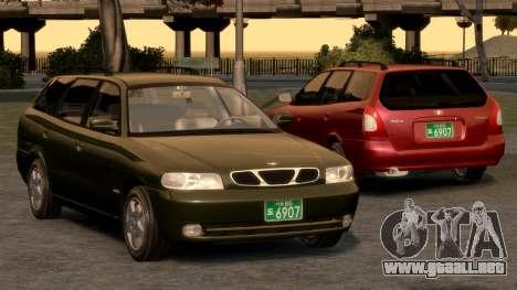 Daewoo Nubira I Spagon 1.8 DOHC 1998 para GTA motor 4