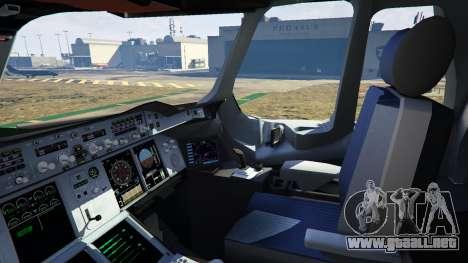 GTA 5 Airbus A380-800 v1.1 décima captura de pantalla