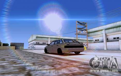 2114 Turbo para GTA San Andreas left
