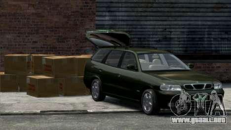 Daewoo Nubira I Spagon 1.8 DOHC 1998 para GTA 4 visión correcta