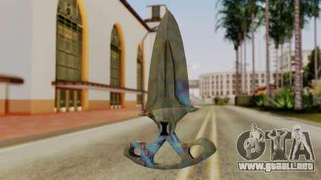 La sombra de la Daga endurecimiento Superficial para GTA San Andreas segunda pantalla