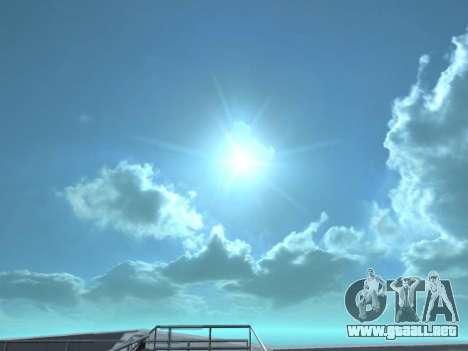 Realista Skybox HD 2015 para GTA San Andreas segunda pantalla