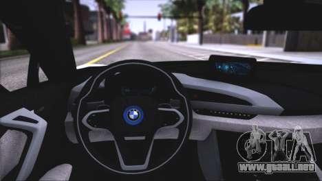 BMW i8 Coupe 2015 para las ruedas de GTA San Andreas