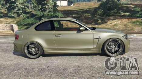 GTA 5 BMW 1M v1.2 vista lateral izquierda