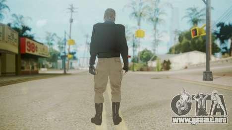 Venom Snake [Jacket] Bast Arm para GTA San Andreas tercera pantalla