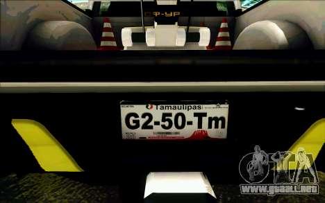 Ford F150 2015 Towtruck para las ruedas de GTA San Andreas
