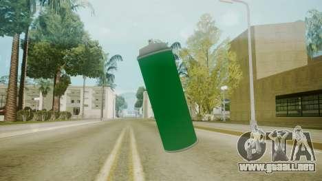 Atmosphere Spraycan v4.3 para GTA San Andreas segunda pantalla
