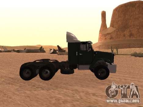 ZIL-133 05A para GTA San Andreas left