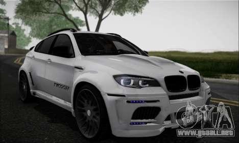 BMW X6M HAMANN Final para GTA San Andreas