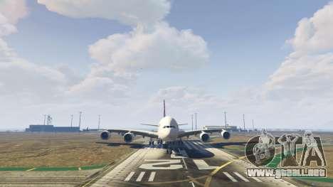 GTA 5 Airbus A380-800 v1.1 sexta captura de pantalla